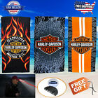Authentic Harley Davidson Large Beach Towels 3 Styles FAST SHIPPING $48.99 USD
