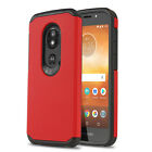 for MOTOROLA MOTO E5 GO (Verizon), [DuoTEK Series] Phone Case +Tempered Glass