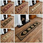 TRADITIONAL ELEGANT CLASSIC RUNNER RUG ON DISCOUNT BEIGE, GREEN, RED HALLWAY RUG