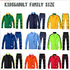 Kids&Adult Running Sport Family Kit Football Soccer Tracksuit Jacket Outfits
