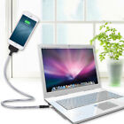 Flexible Mobile Phone Holder Stand Charging Cable Cord For Iphone / Android