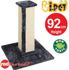 Cat Scratching Pole Tree Scratcher Post Kitten Tall 92cm Non-toxic Sisal Gym New
