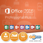MS Microsoft Office Professional Plus Original Vollversion 32/64-Bit NEU