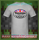 TRIUMPH Motorcycle T-SHIRT TRIUMPH Motorcycle Classic Logo Men's TEE SHIRT $36.92 CAD on eBay