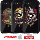 iPhone Silicone Cover Case Star wars Storm trooper Bobba Fett Heads - Coverlads $19.95 AUD