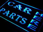 i644-b CAR PARTS HERE Auto Body Shop Neon Light Sign