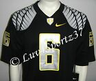 NWT OREGON DUCKS Black NIKE Limited Sewn Stitched JERSEY #6 MEN S M L XL or 2XL
