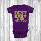 Best Baby In The Galaxy Baby Baby Grow Body Suit Vest Gift Cute Star Wars