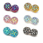 Magnetic Hijab Pin Headscarf Abaya Clasp Brooch Shawl Round Magnet Scarf Pin 2PC