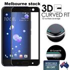 3D Curved Full Coverage 9H Tempered Glass Film Guard Screen Protector for HTCU11
