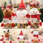 Party Cute Christmas Santa Decor Ornaments Candy Gift Container Bottle S0BZ