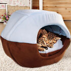 2017 Fashion Winter Soft Folding Cave House Bed Cushion Pad Dog Pet Puppy Warmer