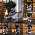 Cosplay Puppy Dog Cat Funny Clothes and Costume with Guitar Attractive EN24H