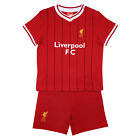 Liverpool FC Official Football Gift Home Kit Baby T-Shirt & Shorts