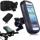 Mobile Bicycle Bike Handle Bar Holder WaterProof Rain Case Cover Fit ZTE Vodafon