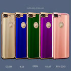 Luxury Ultra-Thin Shiny Soft TPU Phone Case Cover For Apple iPhone 6s 6+ 7 +Film