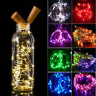 Colorful 2M 20LED Wine Bottle Cork Shape Lights Night String Lamp Christmas Part