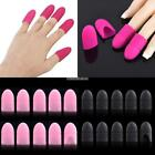 Silicone Nail Art Soak Off Clip Cap Set UV Gel Polish Remover Wrap Tools  N98B