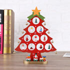 Wooden Christmas Ornament Xmas Tree Pendants Hanging Home Party Decoration