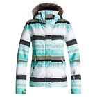 Roxy Jet Ski w/Faux Fur Womens Insulated Snowboard Jacket