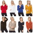 Woman Soft Long Sleeve Solid Open V Front Sweater Cardigan S-3XL