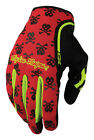 Troy Lee Designs XC Anarchy MX/Offroad Gloves Red/Yellow/Black