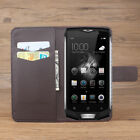 For Blackview BV8000 Pro PU Leather Painting Flower Wallet Flip Stand Case Cover