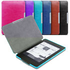 Slim Magnetic Leather Smart Case Cover For Amazon Kindle PaperWhite All versions <br/> All Versions 2012, 2013, 2014, 2015 and Latest PaprWhit