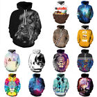 Casual Unisex 3D Printed Hoodies Workout Hoodie Sweater Sweatshirt