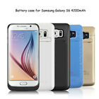 Samsung Galaxy S6/S6 Edge External Battery Case Charger Charging Cover Backup