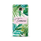 PERSONALISED WATERCOLOUR WITH NAME MOBILE PHONE CASE FOR SAMSUNG GALAXY A3 2016