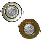 LED Recessed Ceiling Spotlight Downlight Light Fitting Main GU10 240V / MR16 12V