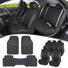 Car SUV Seat Covers for Auto &amp; Heavy Duty Rubber Floor Mats - Full Interior Set <br/> FREE 30 Days Return &amp; FAST Shipping from CA &amp; NJ