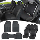 Car SUV Seat Covers for Auto & Heavy Duty Rubber Floor Mats - Full Interior Set $39.5 USD on eBay