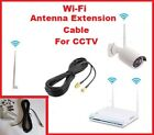 Wireless, WI FI  Digital CCTV  Wi-Fi Antenna Extension Cable RP-SMA
