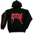 REVENGE 'KILL' HOODIE - MENS Black w/ Red Print - XXXTentacion Bad Vibes Forever