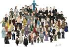 """Game of Thrones Characters Drawn In the Style Art Poster 18x12 36x24 40x27"""""""