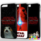 STAR WARS THE LAST JEDI PORG LUKE REY KYLO Phone Case Cover For iPhone Samsung £5.45 GBP