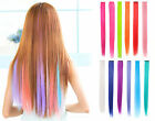 red hair with extensions - Straight Synthetic Color Party Cosplay Highlight Clip in Hair Extension lots of
