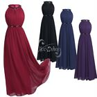 Women's Lace Ball Prom Gown Formal Bridesmaid Cocktail Party Long Evening Dress