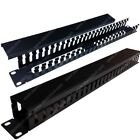 Universal Server Rack Cabinet Wire Managers - Blank Panels, Finger Ducts, & More