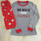 US STOCK Family Match Christmas Women Men Kids Sleepwear Nightwear Pajamas Set #