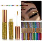 Sparkling Waterproof Shimmer Eyeshadow Glitter Liquid Eyeliner Metallic Cosmetic