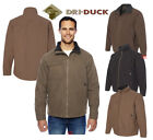 Dri Duck Men's 100% Cotton Long Sleeve Chest Patch Pocket Basic Jacket   DD5037
