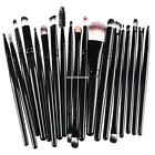 20pcs Professional Powder Eyeshadow Eyeliner Lip Brush Tool Makeup EN24H 01