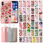 For Apple iPhone X 5.8 inch Bling Glitter Hybrid TPU Silicone Gel Case Cover