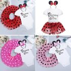Minnie Toddler Baby Girls Birthday Party Dot Tutu Skirt Kids Dress Costume Set