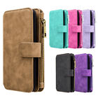 For Samsung GALAXY Note 8 Leather Flip Wallet Removable Case Phone Cover Stand