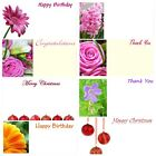 50 CARDS IN PACK FLORIST CHRISTMAS GIFT CARDS LOWEST PRICE  XMAS BAUBLES NEW