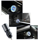 Hot -ZH06 2.1A Mini Dual Mooring USB Car Charger Adapter For Cell Phone Apple